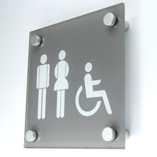 Male Female Disabled Sign